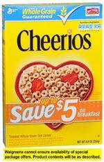 Cheerios Cereal(8.9 oz )