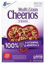 Cheerios Multi-Grain Cereal(9 oz )
