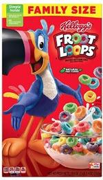 Froot Loops Breakfast Cereal(19.4 oz )