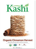 Kashi Organic Promise Whole Wheat Cereal Cinnamon Harvest(16.3 oz )