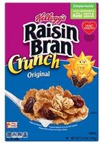 Raisin Bran Breakfast Cereal(16.6 oz )