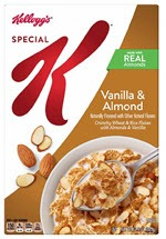 Special K Breakfast Cereal Vanilla and Almond(12.9 oz )