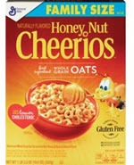 Honey Nut Cheerios Cereal