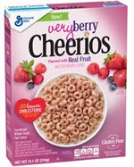 Very Berry Cheerios Cereal