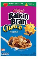 Kellogg's Raisin Bran Crunch Cereal