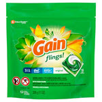 Gain Flings Pacs Capsules Original Laundry Detergent