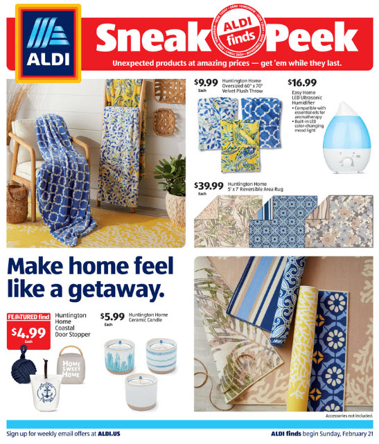 ALDI Weekly Ad (2/21/21 - 2/27/21) Preview