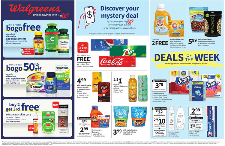 Walgreens Weekly Ad (2/21/21 - 2/27/21) Preview
