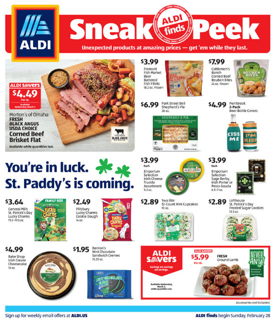 ALDI Weekly Ad (2/28/21 - 3/6/21) Preview