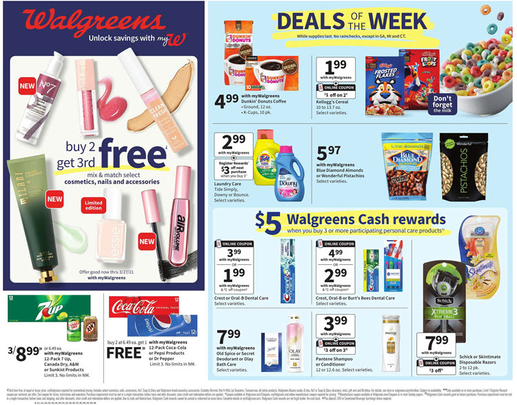 Walgreens Weekly Ad (2/28/21 - 3/6/21) Preview