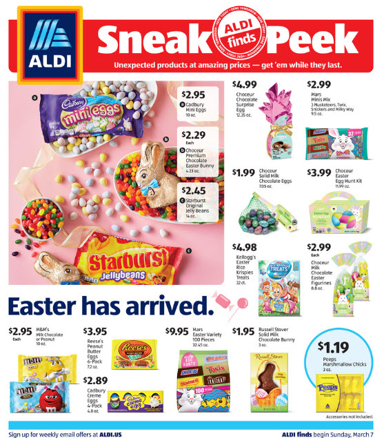 ALDI Weekly Ad (3/7/21 - 3/13/21) Preview