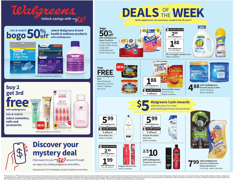 Walgreens Weekly Ad (3/7/21 - 3/13/21) Preview
