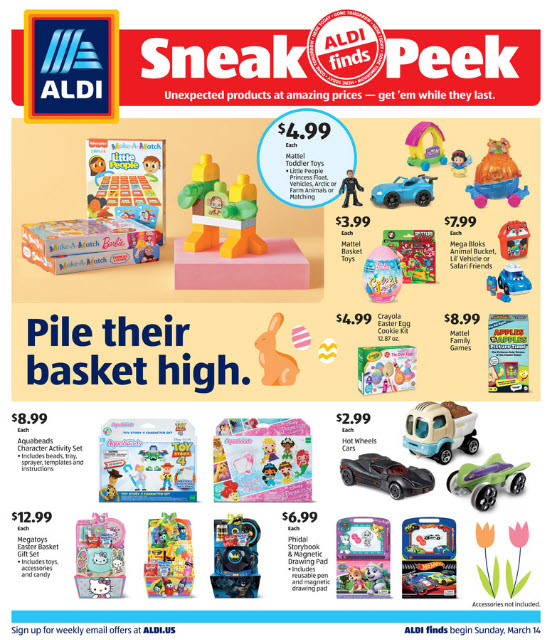 ALDI Weekly Ad (3/14/21 - 3/20/21) Preview