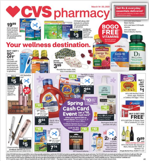CVS Weekly Ad (3/14/21 - 3/20/21) Preview