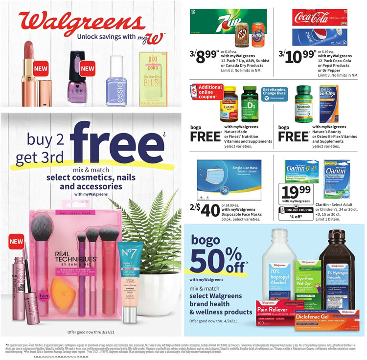 Walgreens Weekly Ad (3/14/21 - 3/20/21) Preview