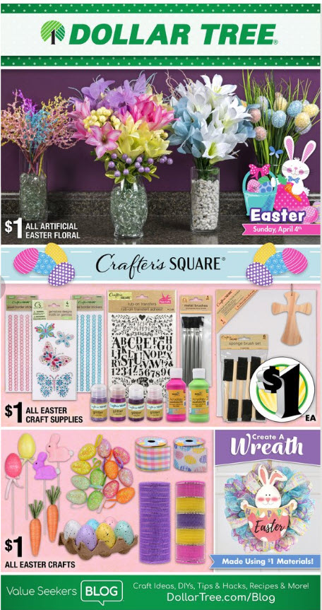 Dollar Tree Weekly Ad (3/18/21 - 3/27/21) Preview