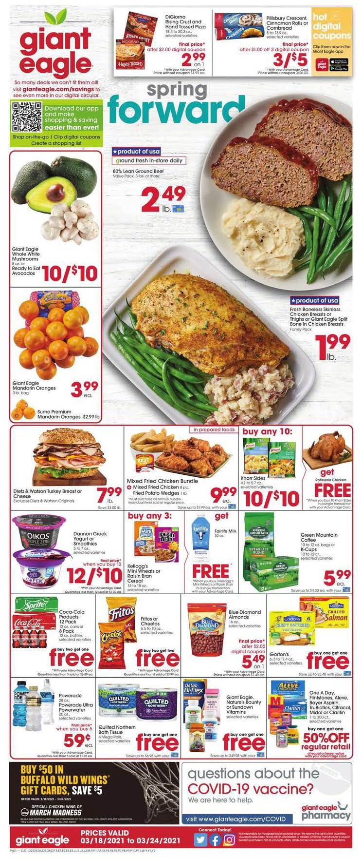 Giant Eagle Weekly Ad (3/18/21 - 3/24/21) Preview
