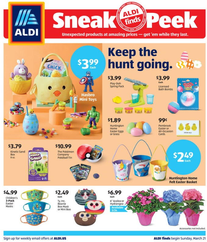 ALDI Weekly Ad (3/21/21 - 3/27/21) Preview