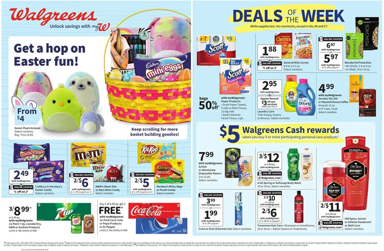 Walgreens Weekly Ad (3/21/21 - 3/27/21) Preview
