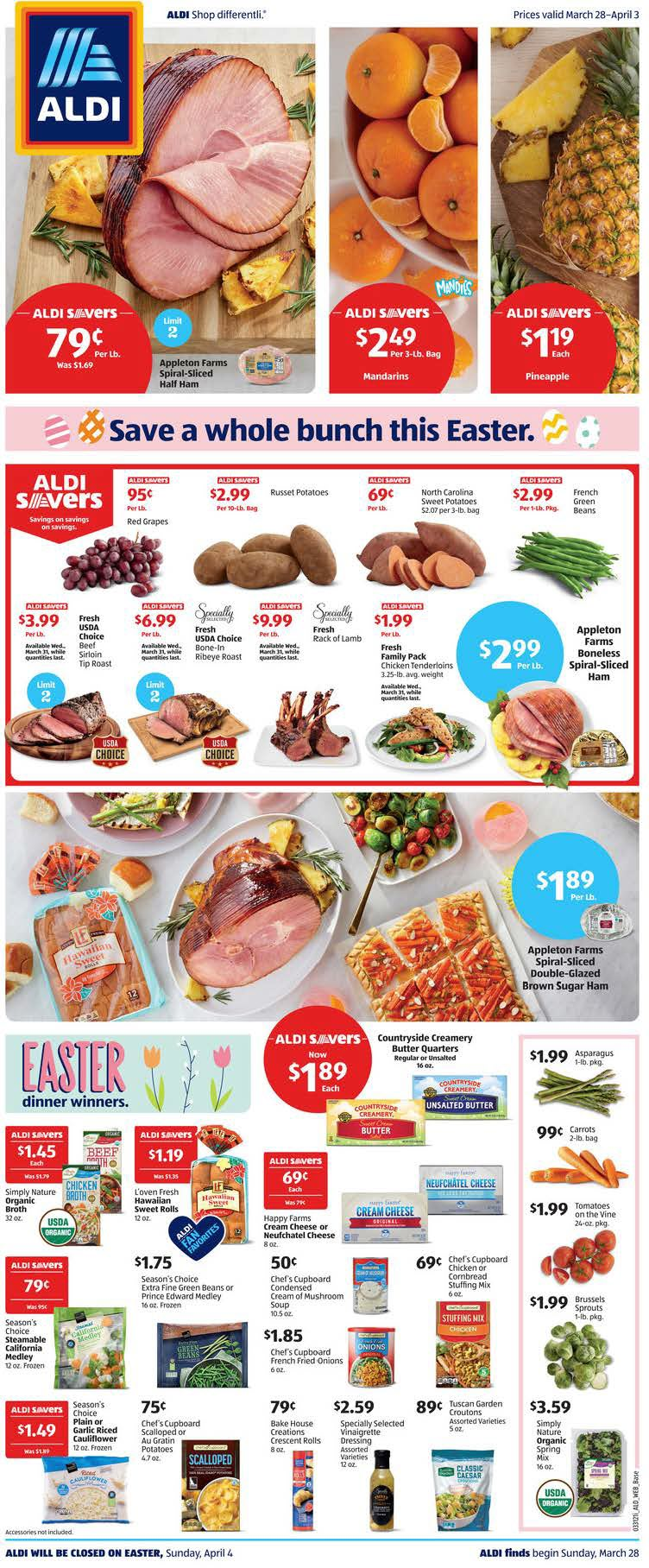 ALDI Weekly Ad (3/28/21 - 4/3/21) Preview