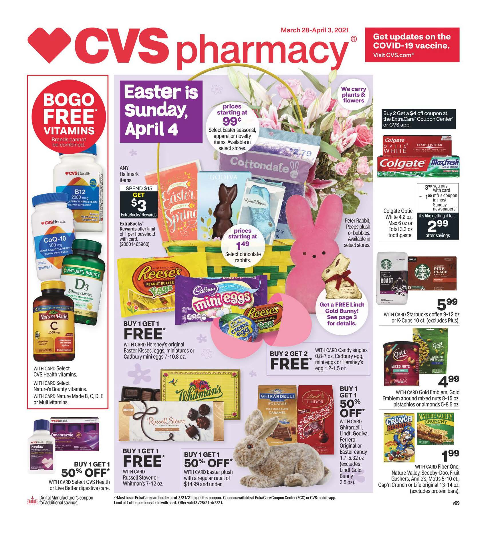 CVS Weekly Ad (3/28/21 - 4/3/21) Preview