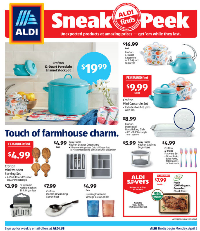 ALDI Weekly Ad (4/4/21 - 4/10/21) Preview