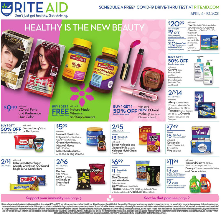 Rite Aid Weekly Ad (4/4/21 - 4/10/21) Preview