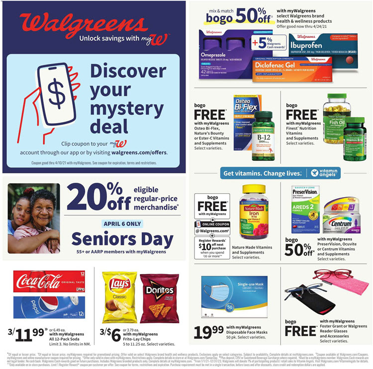 Walgreens Weekly Ad (4/4/21 - 4/10/21) Preview