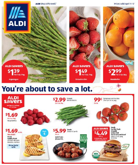 ALDI Ad (4/11/21 - 4/17/21) Preview