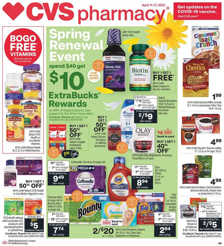 CVS Ad (4/11/21 - 4/17/21)