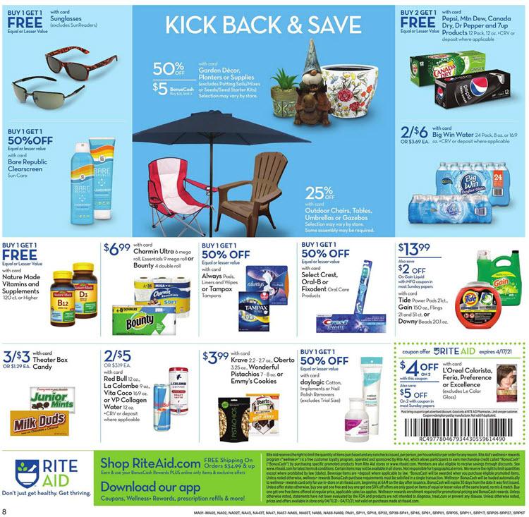 Rite Aid Ad (4/11/21 - 4/17/21) Preview