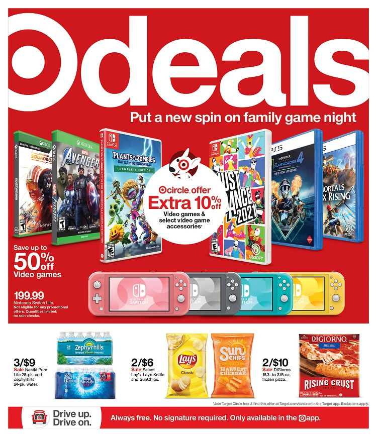 Target Ad (4/11/21 - 4/17/21) Preview