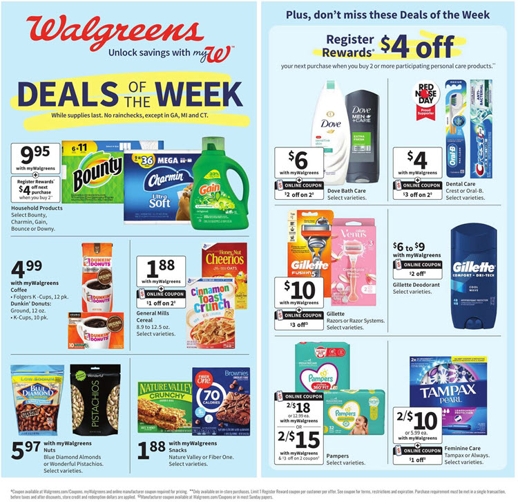 Walgreens Ad (4/11/21 - 4/17/21) Preview