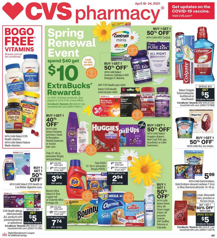 CVS Ad (4/18/21 - 4/24/21)