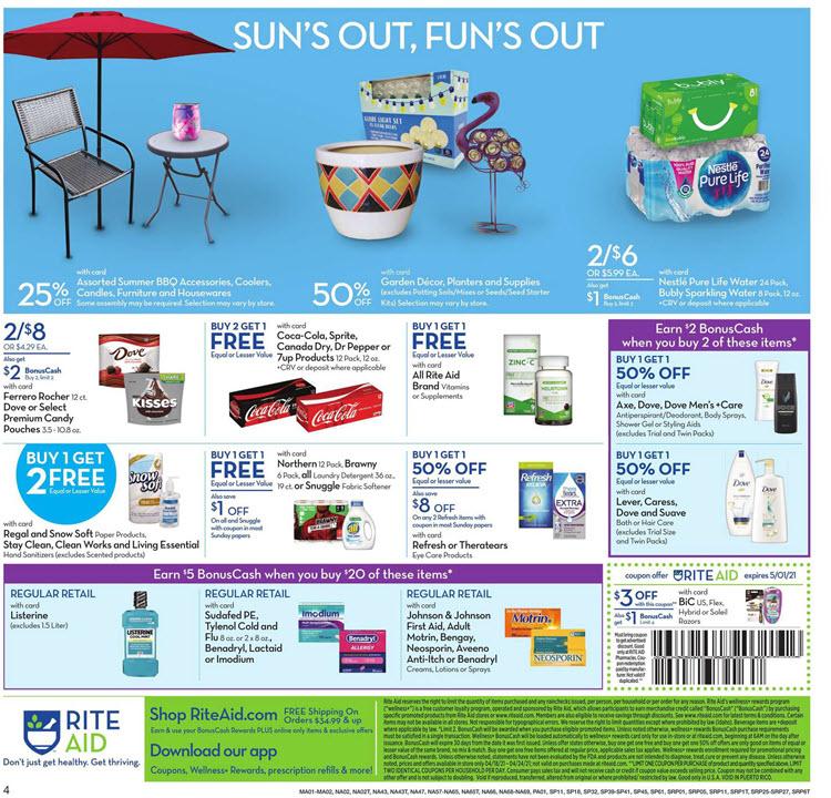 Rite Aid Ad (4/18/21 - 4/24/21) Preview