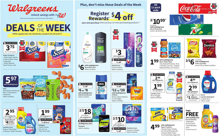 Walgreens Ad (4/18/21 - 4/24/21) Preview