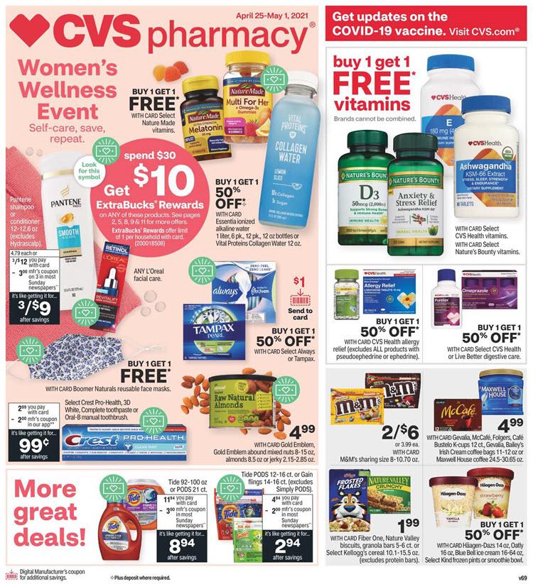 CVS Ad (4/25/21 - 5/1/21)