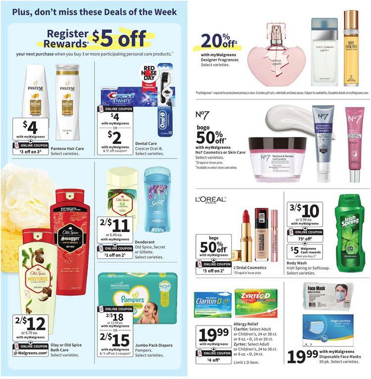 Walgreens Ad (4/25/21 - 5/1/21) Preview