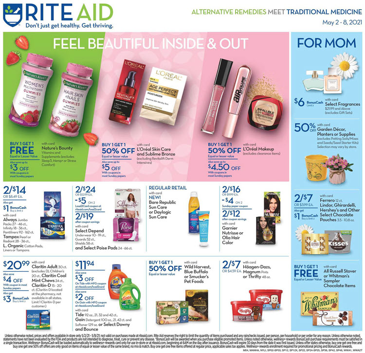Rite Aid Ad (5/2/21 - 5/8/21) Preview