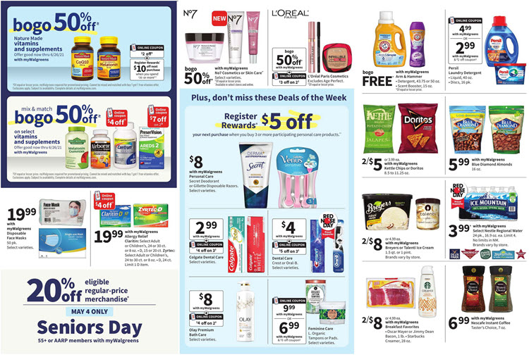 Walgreens Ad (5/2/21 - 5/8/21) Preview