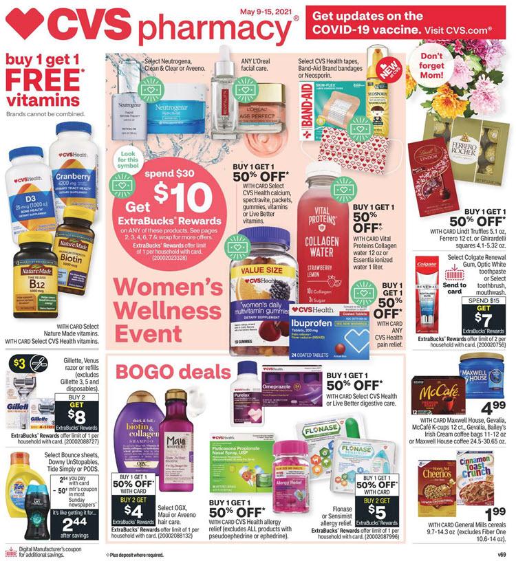 CVS Ad (5/9/21 - 5/15/21)