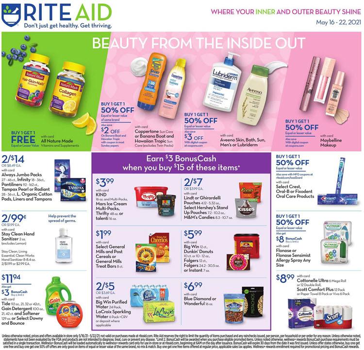 Rite Aid Ad (5/16/21 - 5/22/21) Preview