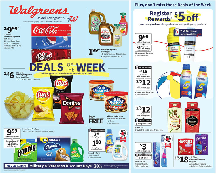 Walgreens Ad (5/23/21 - 5/29/21) Preview
